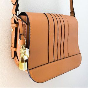 London Fog York Saddle Crossbody